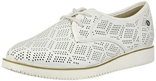 Hush-Puppies-Womens-Chowchow-Perf-Lace-Pump-White-Leather-8-M-US-0