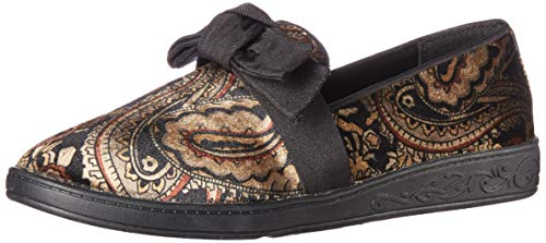 Soft-Style-by-Hush-Puppies-Womens-Pazazz-Loafer-Black-Paisley-Velvet-95-W-US-0