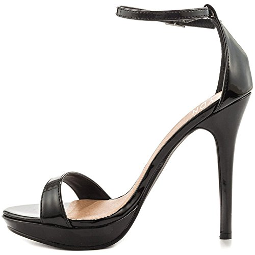 YDN-Women-Sexy-Open-Toe-High-Heel-Sandals-Ankle-Strap-Platform-Pumps-Dress-Stiletto-Shoes-Black-13-0