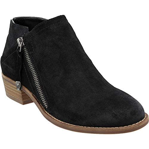 Dolce-Vita-Womens-Siena-Casual-Booties-Shoes-Black-85-0