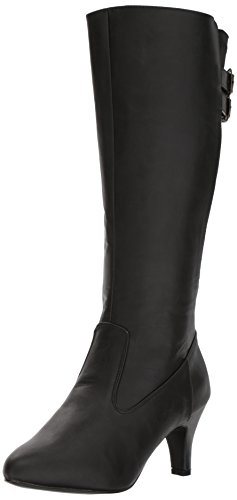 Pleaser-Pink-Label-Womens-Div2018Bpu-Boot-Black-Faux-Leather-10-M-US-0