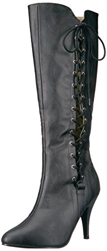 Pleaser-Pink-Label-Womens-Dre2026Bpu-Boot-Black-Faux-Leather-17-M-US-0