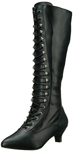 Pleaser-Pink-Label-Womens-Fab2023Bpu-Boot-Blk-Str-Faux-Leather-13-M-US-0