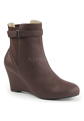 Pleaser-Pink-Label-Womens-Kimberly-102Bnpu-Ankle-Bootie-Brown-Faux-Leather-15-M-US-0