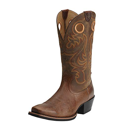 Ariat-Mens-Sport-Square-Toe-Western-Cowboy-Boot-Fiddle-Brown-115-M-US-0