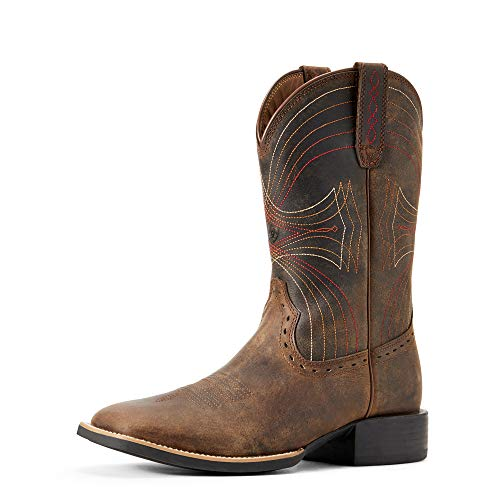 Ariat-Mens-Sport-Wide-Square-Toe-Western-Cowboy-Boot-Distressed-Brown-95-DM-US-0