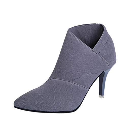 Creazrise-Womens-Autumn-Pointed-Toe-Zip-up-Stiletto-High-Heels-Dress-Ankle-Booties-Gray15-0