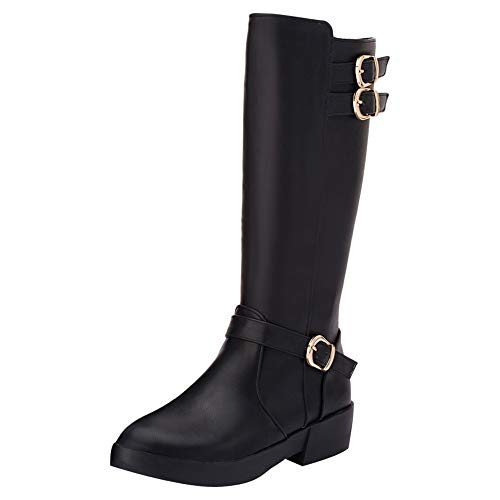 Show-Shine-Womens-Knee-High-Tall-Boots-9-Black-0
