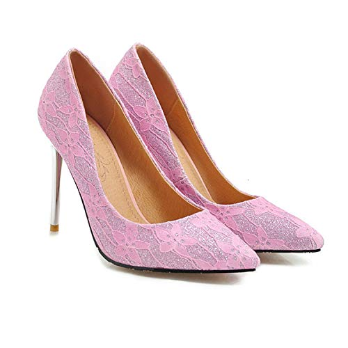 2019-Spring-New-Shoes-Woman-Pointed-Toe-Shallow-Pumps-Women-Shoes-Thin-high-Heels-Shoes-WomenPink10-0