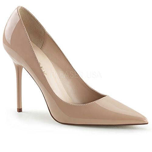 Pleaser-Womens-Clas20Nd-dress-Pump-Nude-Patent-13-M-US-0