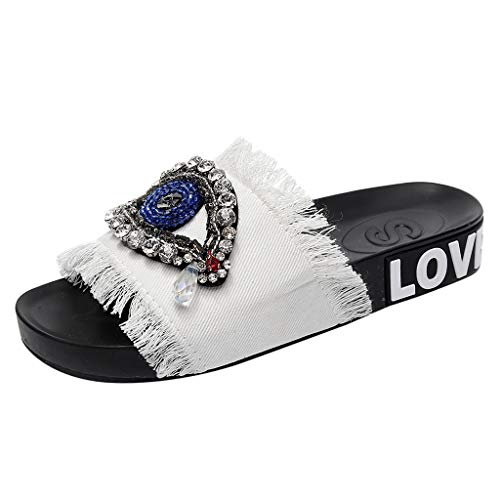 Summer-Spring-Women-Ladies-Girls-Crystal-Flat-Sandals-Slippers-Beach-Shoes-0