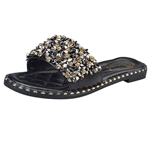 Womens-Word-Shiny-Rhinestone-Slippers-Beach-Shoes-Flat-Non-Slip-Sandals-0