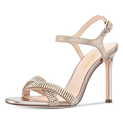 XYD-Women-Open-Toe-Stiletto-High-Heels-Rhinestones-Studded-Ankle-Strap-Sandals-Cocktail-Party-Dress-Shoes-Size-14-Gold-0