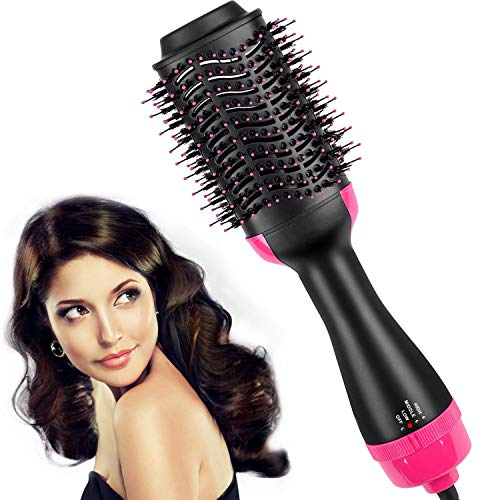 Hair-Dryer-BrushHot-Air-Brush-One-Step-Hair-Dryer-Volumizer-Styler-for-Straightening-Curling-Salon-Negative-Ion-Ceramic-Electric-Blow-Dryer-Rotating-Straightener-0