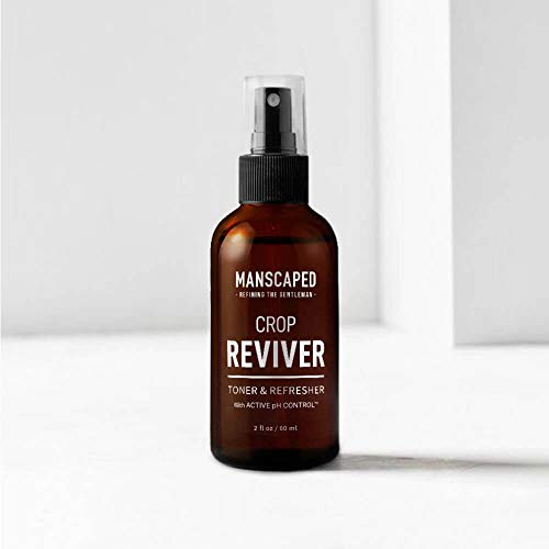 Manscaped-Mens-Body-Toner-Spray-The-Crop-Reviver-Cooling-Groin-Spritz-with-Aloe-Vera-Groin-Protection-For-Men-Odor-Guard-Protects-Against-Smells-Features-Active-pH-Control-0