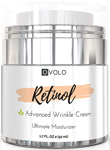 OVOLO-Moisturizer-Cream-with-Retinol-for-Face-and-Eye-Area-BEST-NEW-2019-Skin-Care-Option-Formulated-with-Premium-Ingredients-USA-Made-Anti-Aging-Rapid-Wrinkle-Repair-Cream-for-Day-and-Night-0
