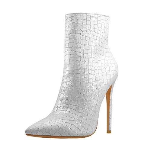 Onlymaker-Pointed-Toe-Ankle-Boots-for-Women-with-Stiletto-Heel-Dress-Shoes-Stone-Pattern-High-Heels-Short-Booties-Ivory-White-Size-7-0