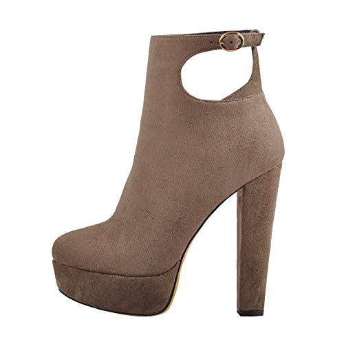 Onlymaker-Womens-Sexy-Cut-Out-High-Heel-Platform-Ankle-Boots-Buckle-Round-Toe-Side-Zipper-Booties-Nude-US-14-0
