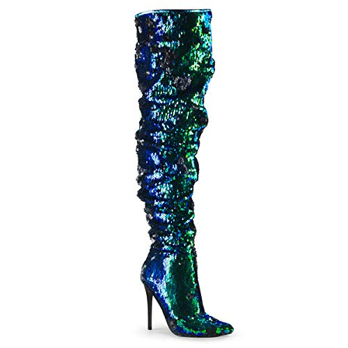Pleaser-Womens-Courtly-3011-Thigh-high-Boot-0
