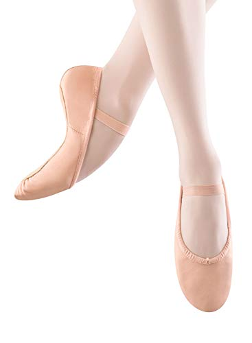 Bloch-Girls-Dance-Dansoft-Full-Sole-Leather-Ballet-SlipperShoe-Pink-13-Narrow-Little-Kid-0