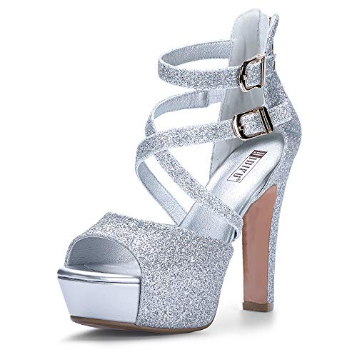 IDIFU-Womens-IN5-Charcy-Crisscross-Strappy-Platform-High-Chunky-Heels-Peep-Toe-Pump-Party-Heeled-Sandals-9-M-US-Silver-Glitter-0